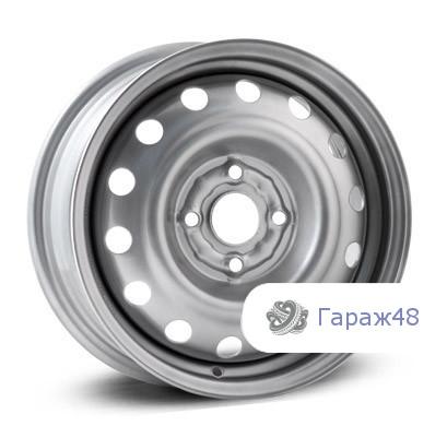 Trebl 53B35B R14 / 5J PCD 4x98 ET 35 ЦО 58.6 Штампованные Серебристый